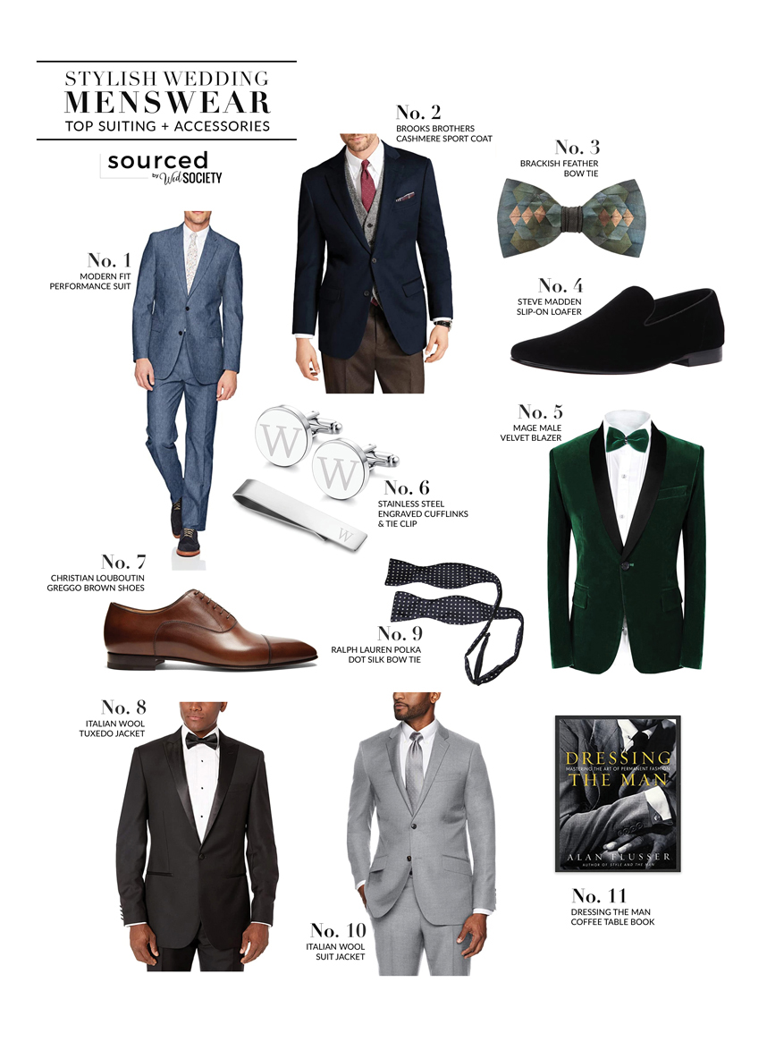 Find the Perfect Men's Attire for your Groom