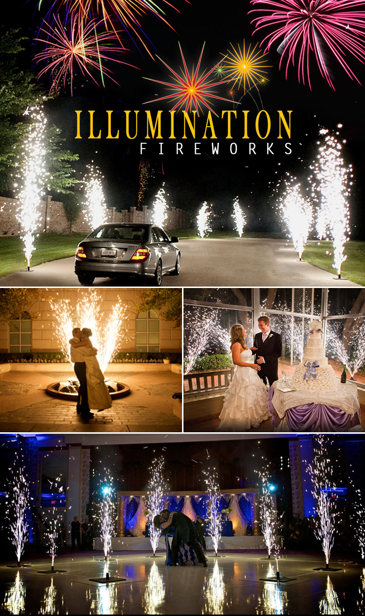 Illumination Fireworks - Dallas Ft. Worth Wedding Fireworks