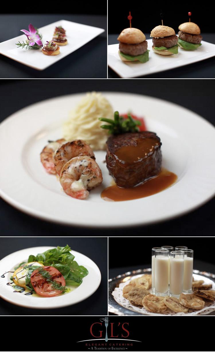 Dallas wedding catering Gil's Elegant Catering