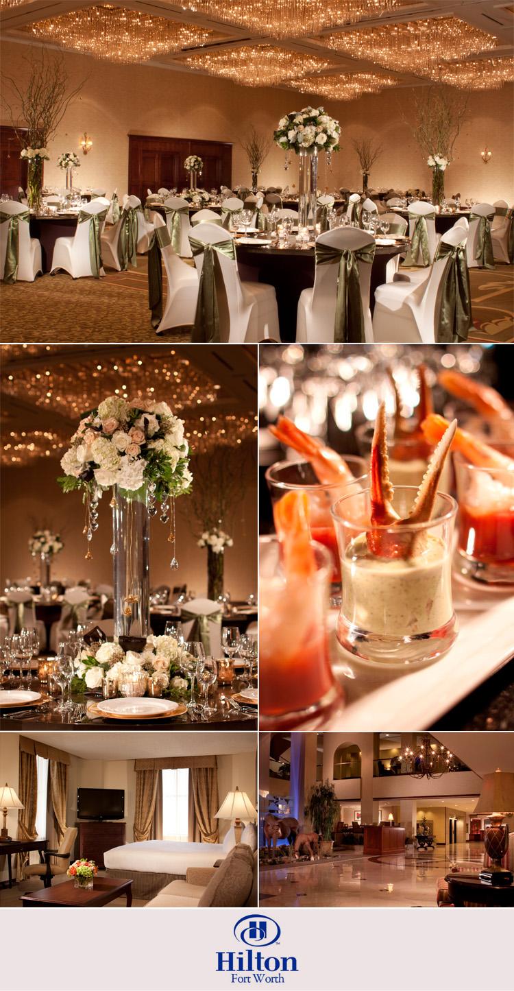 Fort Worth wedding and reception venue - HIlton Fort Worth