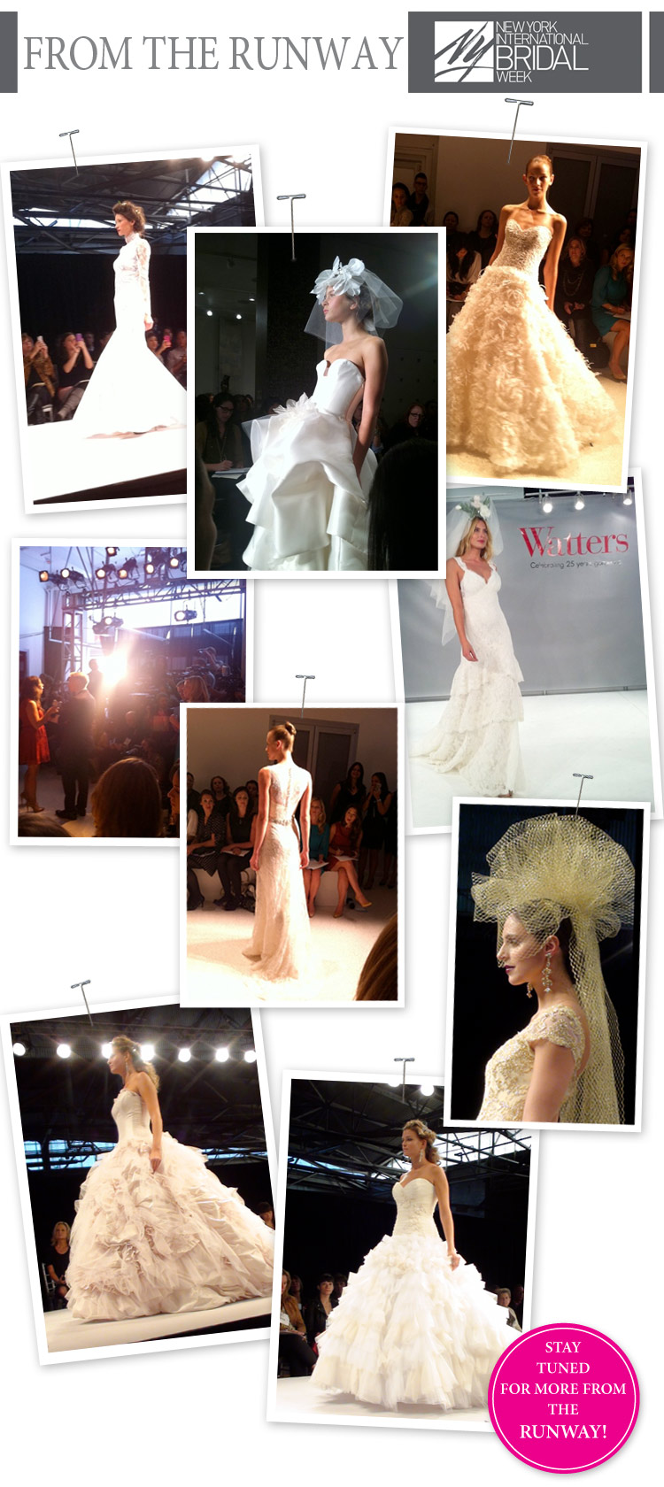 NY Bridal Fashion Week - October 2011 - Brides of North Texas