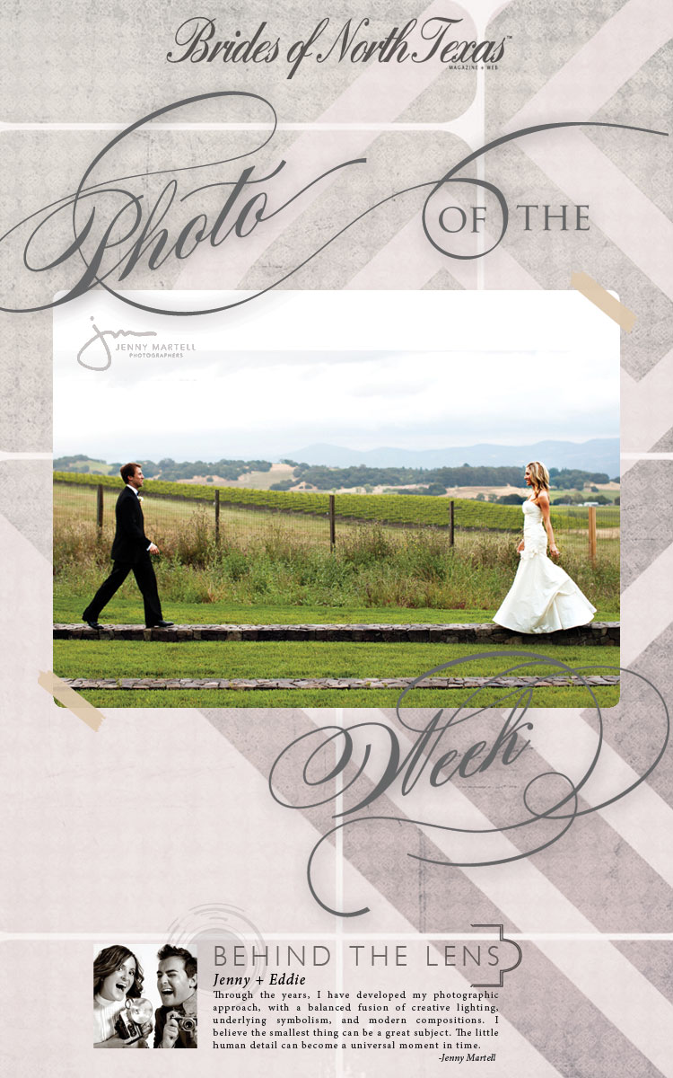 Brides of North Texas photo of the week Jenny Martell Photography