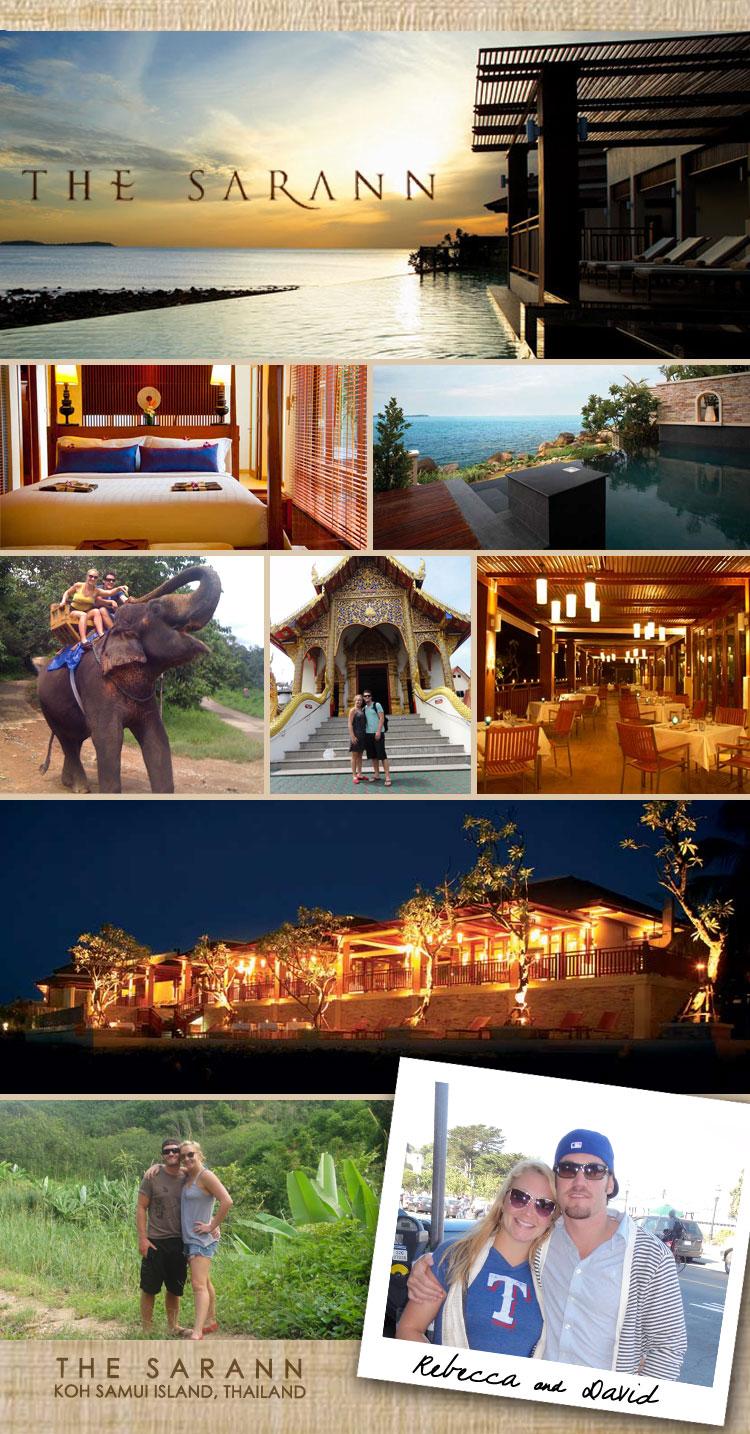 Brides of North Texas honeymoon hot spot The Sarann in Thailand
