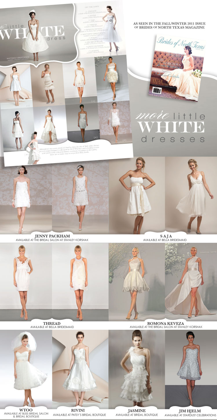 Little White Dress - Short Wedding Dresses