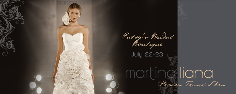 Martina Liana at Patsy's Bridal Boutique in Dallas
