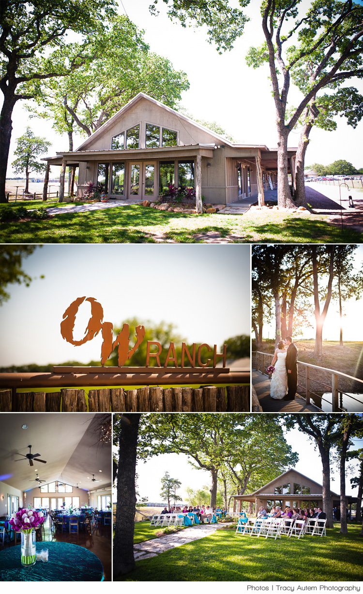 Dallas Fort Worth wedding reception and rehearsal dinner venue OW Ranch in Granbury Texas