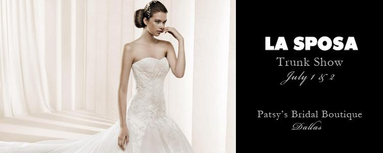 La Sposa wedding dresses Patsy's Bridal Boutique Dallas Texas