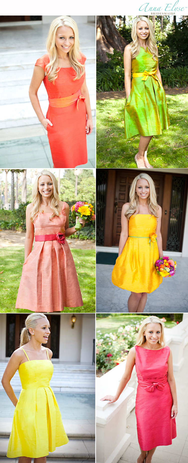 Anna Elyse bridesmaid dresses Patsy's Bridal Boutique in Dallas