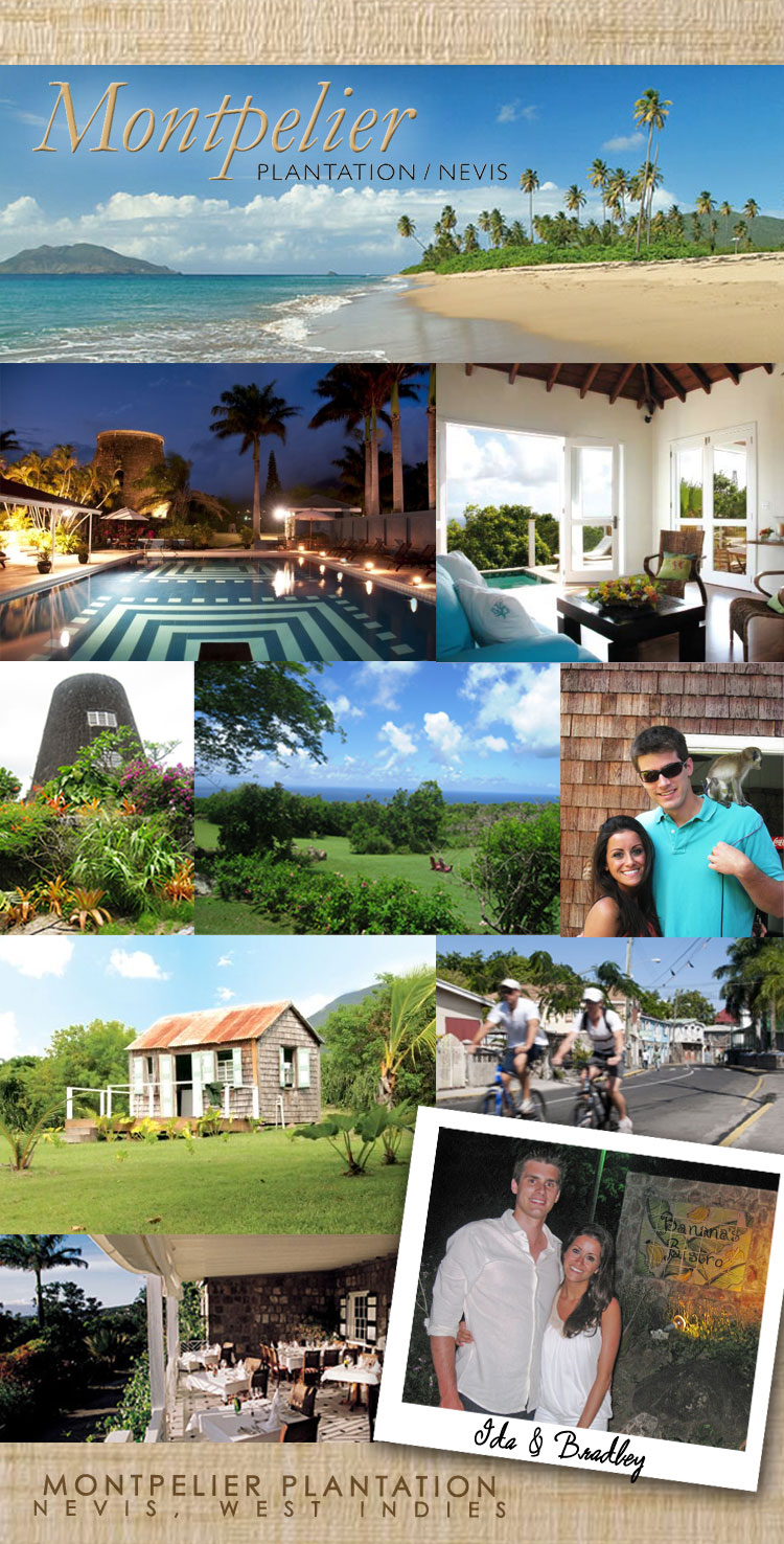 Brides of North Texas honeymoon hotspot Montpelier Plantation Nevis Island