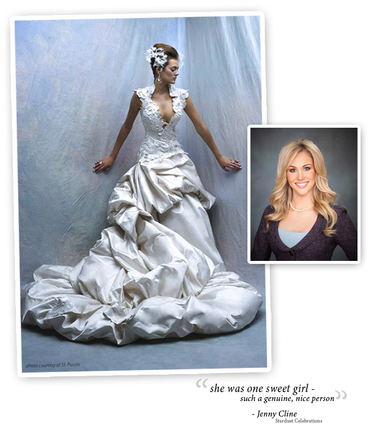 Candice Crawford wedding gown, St. Pucchi, Stardust Celebrations in Plano, Texas