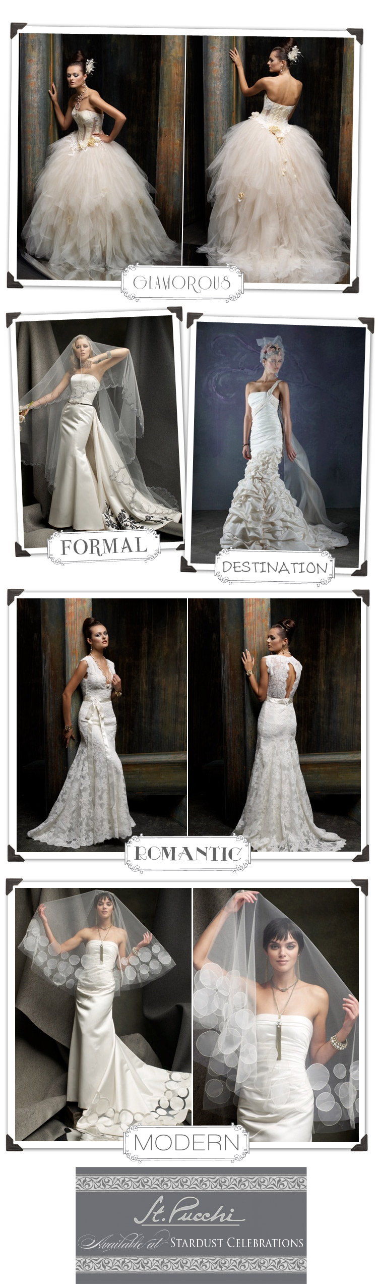 St. Pucchi wedding gowns - Stardust Celebrations in Texas