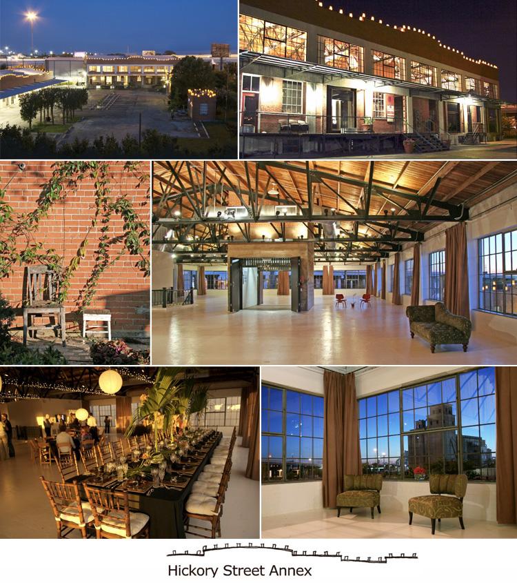 Dallas wedding venue - Hickory Street Annex