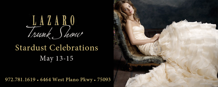 Lazaro wedding gowns - Stardust Celebrations - Plano, Texas