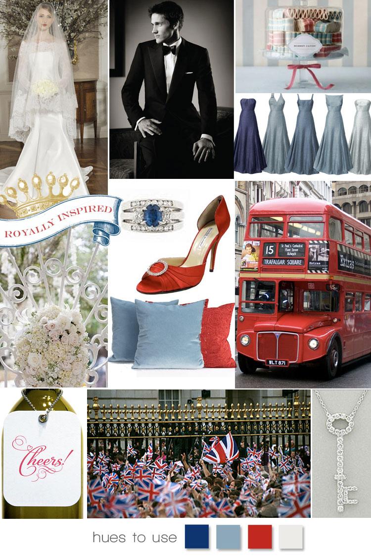 British Invasion, Royal Wedding Inspiration, Royal Inspiration Board