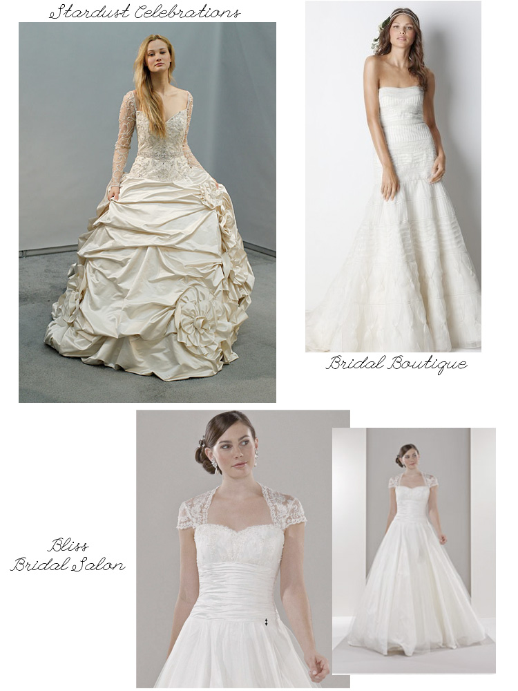 Dallas and Fort Worth wedding dresses - Bliss Bridal Salon, Bridal Boutique and Stardust Celebrations