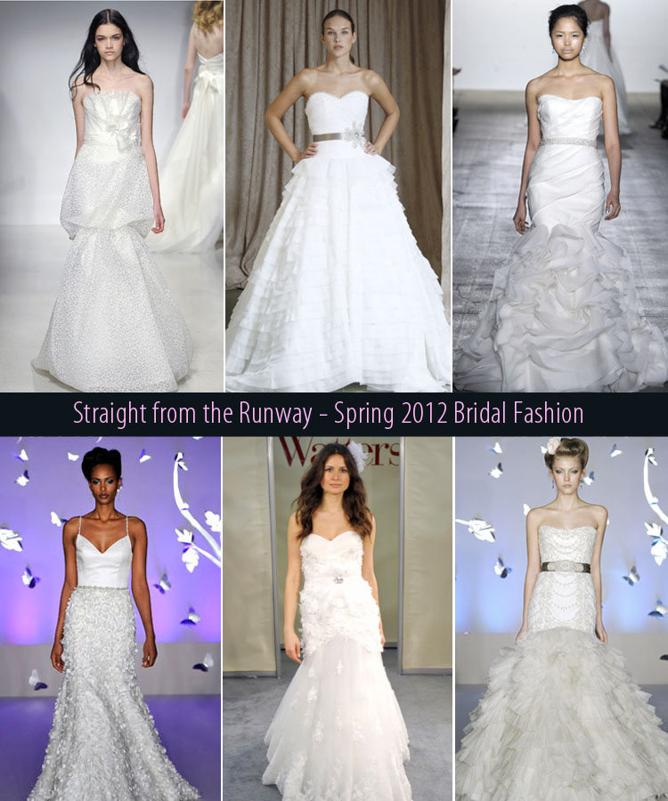Spring 2012 bridal fashion