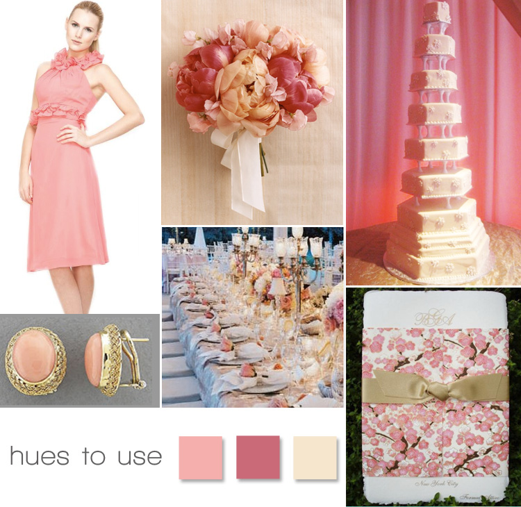 Pink Wedding Inspiration, Brides of North Texas