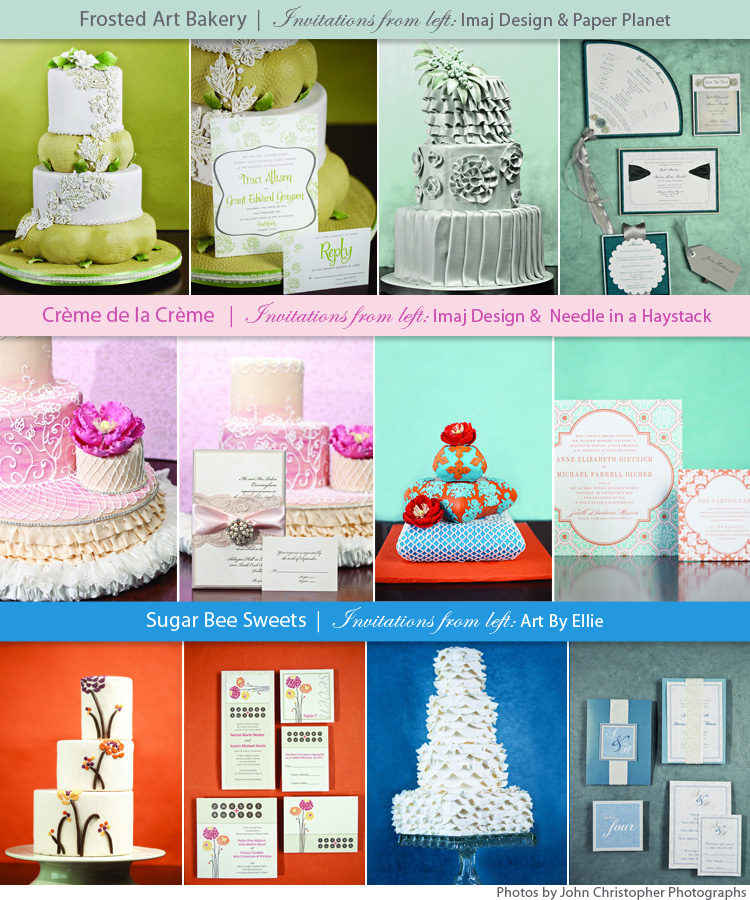 Texas wedding cakes, Dallas, Fort Worth wedding cake artists