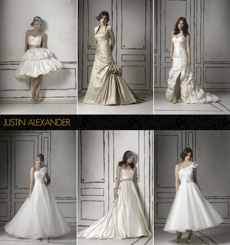 Justin Alexander, Spring Looks, Bliss Bridal Salon