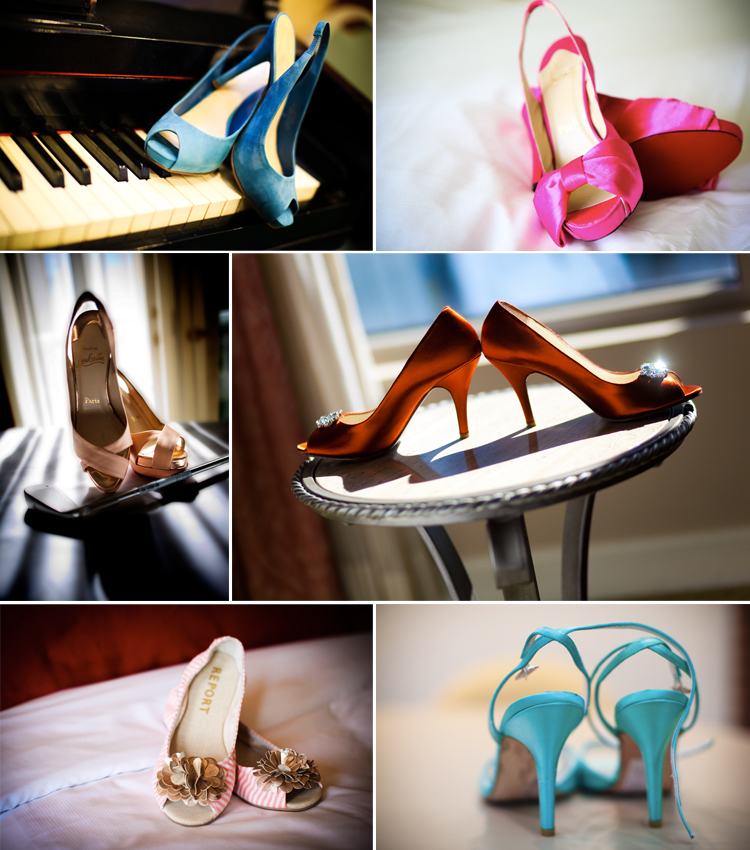 Shoe Happy, Shoes with Hues, Wedding Shoes