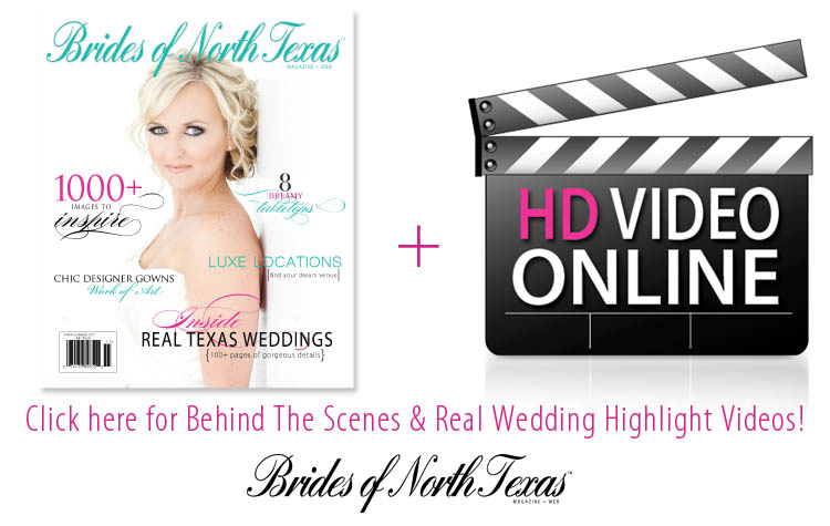 Behind the Scenes with Brides of North Texas, Making the Magazine