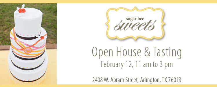 Sugar Bee Sweets, Cake Tasting, Open House