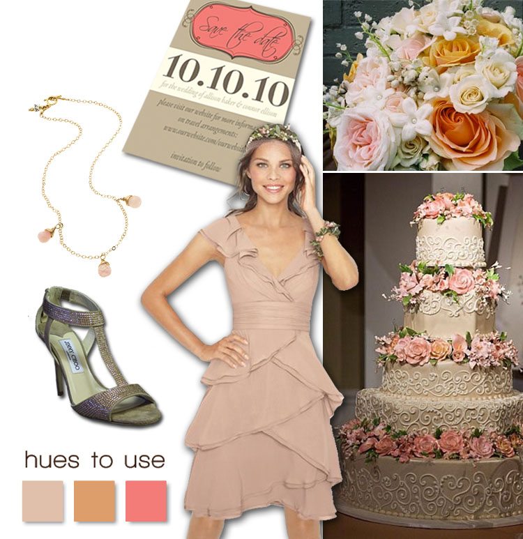 Pink Wedding Inspiration, Brides of North Texas Hues to Use
