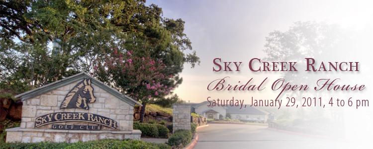 Sky Creek Ranch Bridal Open House, North Texas Wedding Venue