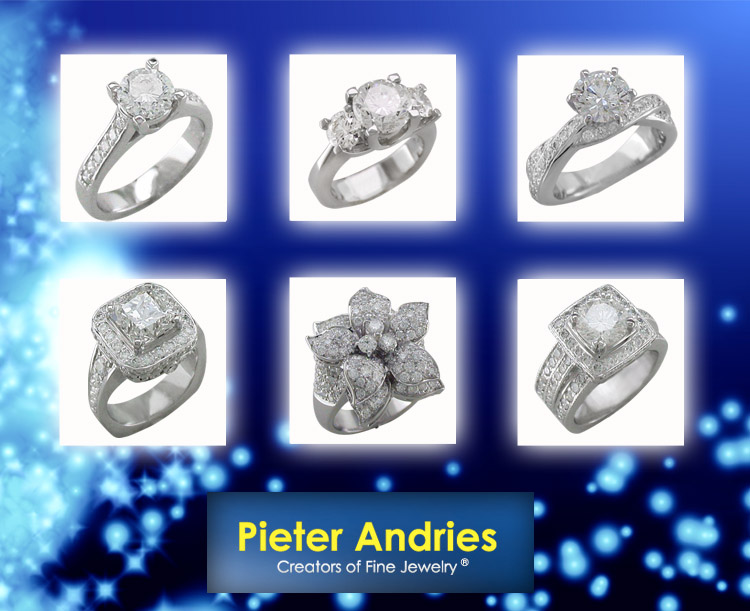 Pieter Andries Jewelers, Engagement Ring Options