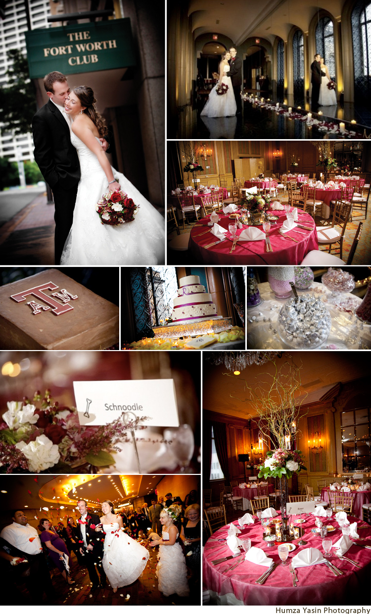 Fort Worth Club wedding photographed by Humza Yasin Photography