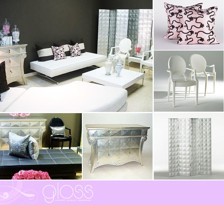 Gloss Luxury Event Rentals, Wedding Rentals in Dallas, Fort Worth Wedding Rentals