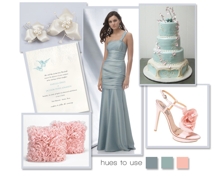 Hues to Use, Pink and Blue Wedding Inspiration, Brides of North Texas