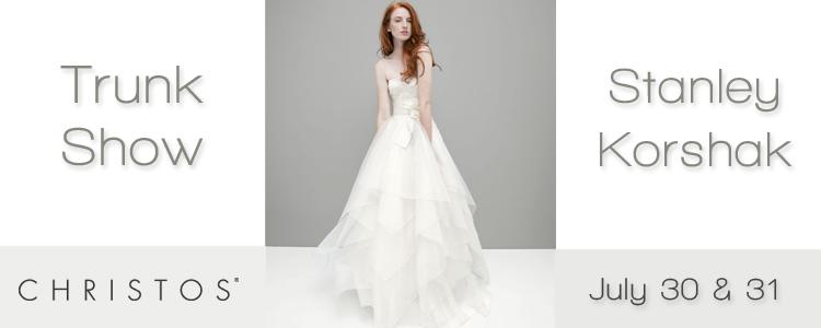 Christos Bridal Trunk Show, The Bridal Salon at Stanley Korshak in Dallas