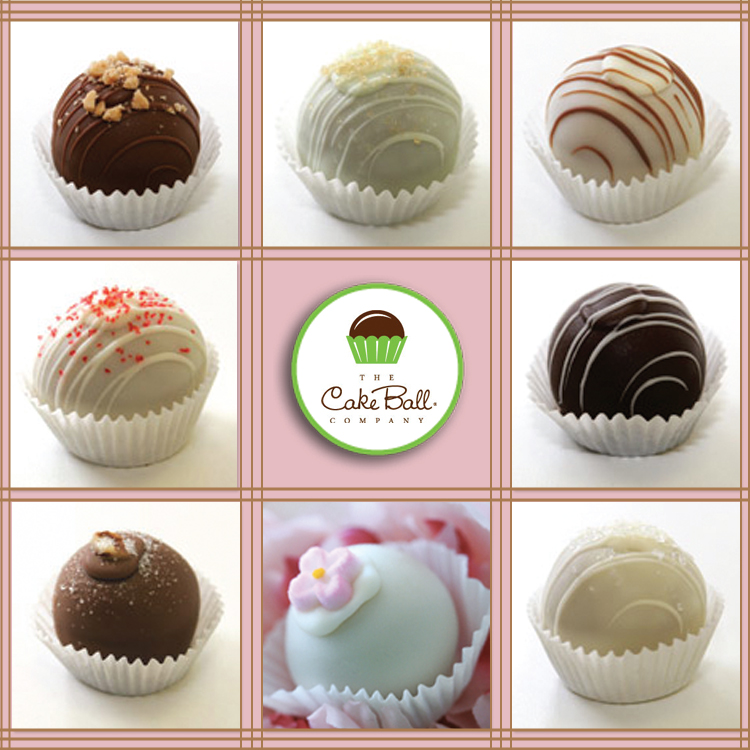 North Texas wedding and reception catering and dessert - Cake Balls in Dallas, Texas.