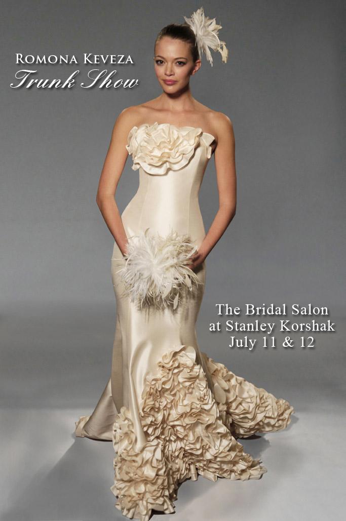 North Texas wedding fashion-Romona Keveza Trunk Show at Stanley Korshak