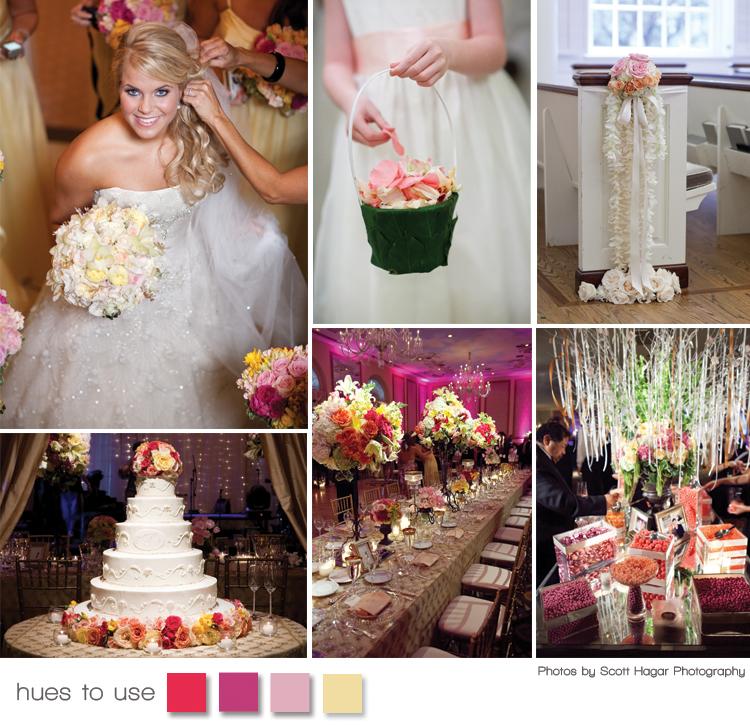 Brides of North Texas - real Texas weddings - Hues to Use
