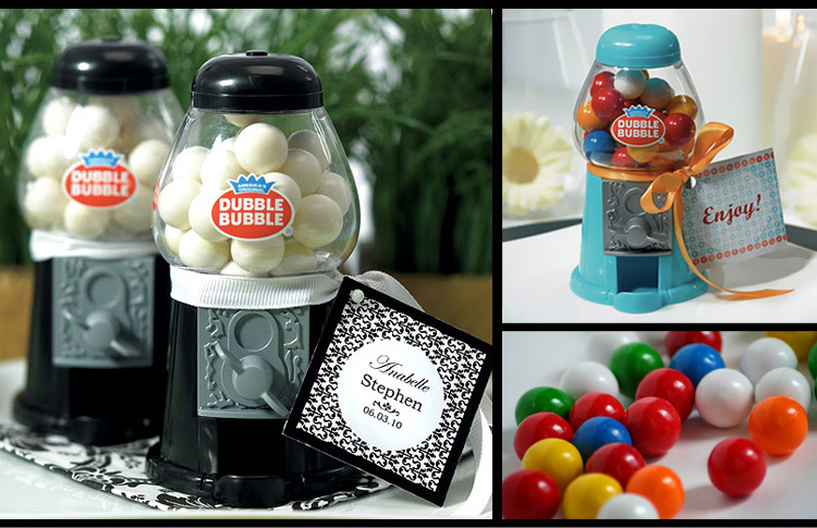 Beaucoup, Mini Gumball Machine Party Favors, Brides of Oklahoma