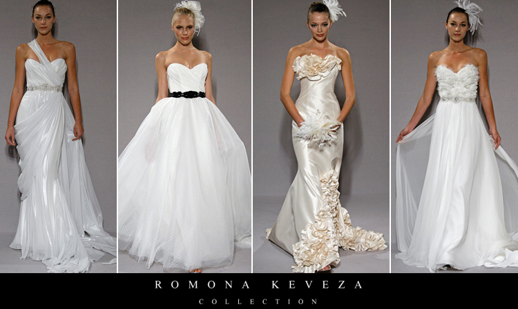 Romona Keveza, Fall Collection 2010, De Ma Fille, The Bridal Salon at Stanley Korshak