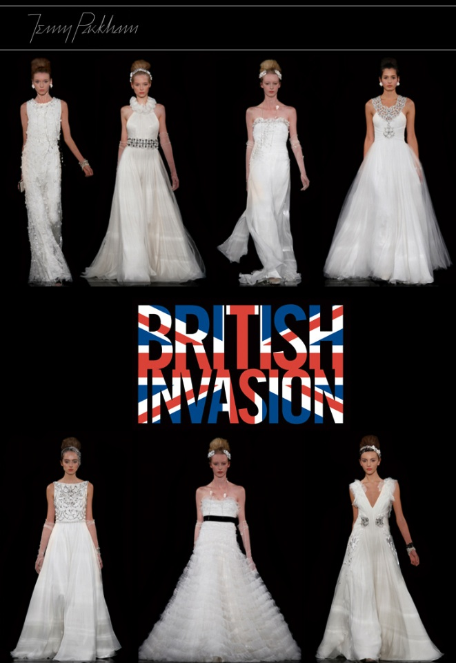 British Invasion, The Bridal Salon at Stanley Korshak, Jenny Packham Bridal Gowns
