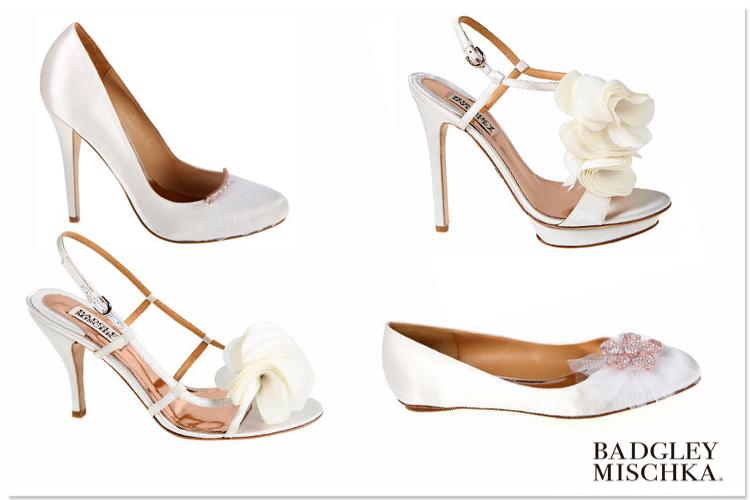 Badgley Mischka shoes, Brides of North Texas