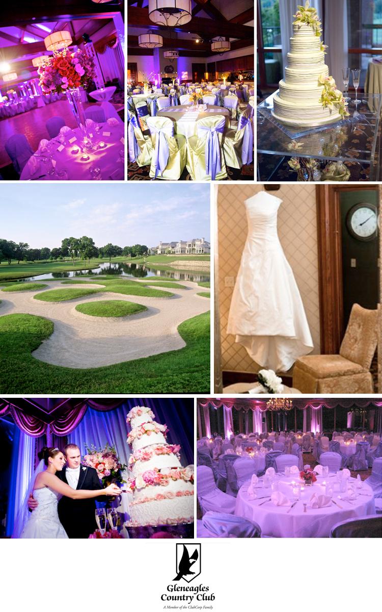 Texas wedding venue - Gleneagles Country Club in Plano, Texas