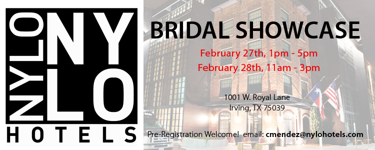 Nylo Las Colinas, bridal showcase