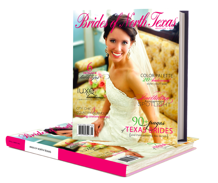 Brides of North Texas Hardbound Book on sale now!