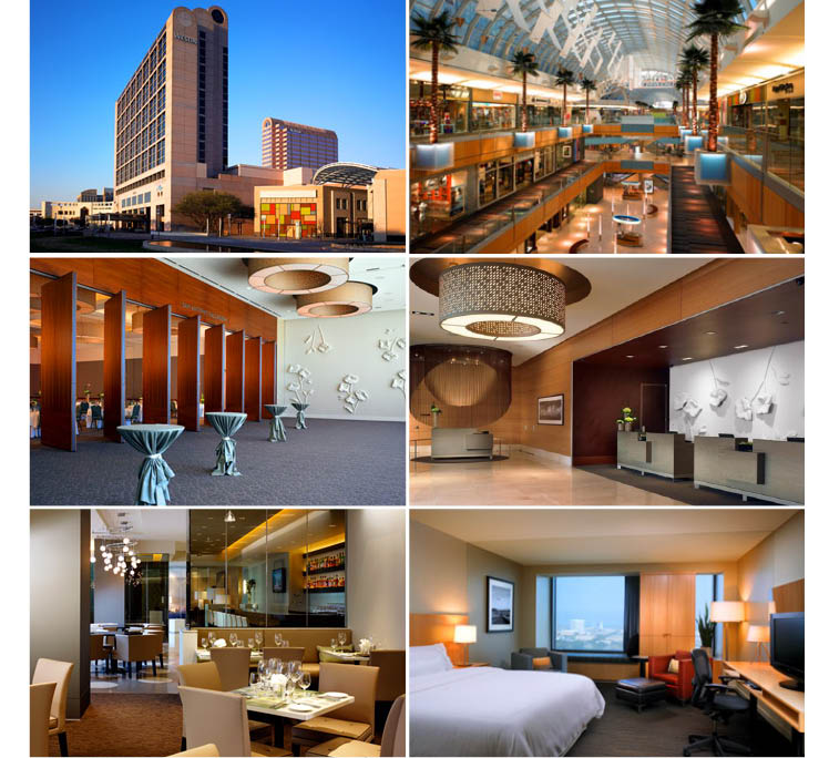 The Westin Galleria in Dallas, Texas, is available for weddings, receptions and rehearsal dinners
