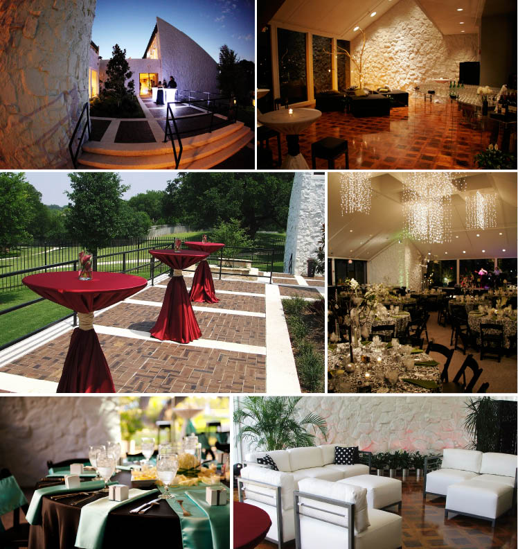 Stonegate Mansion is available for Texas weddings, receptions and rehearsal dinners