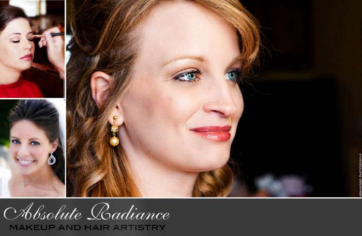 Dallas wedding make-up and hair artists at Absolute Radiance