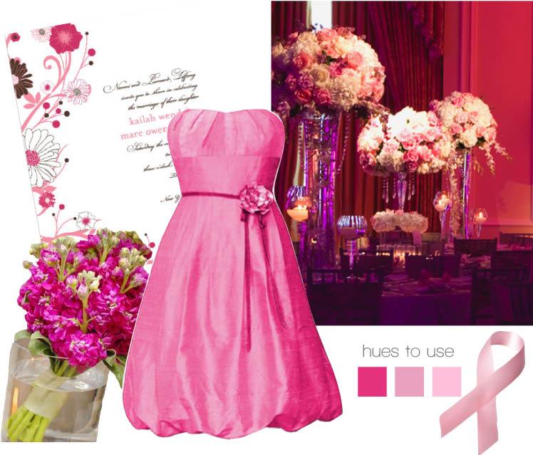 Brides of North Texas pink hues to use