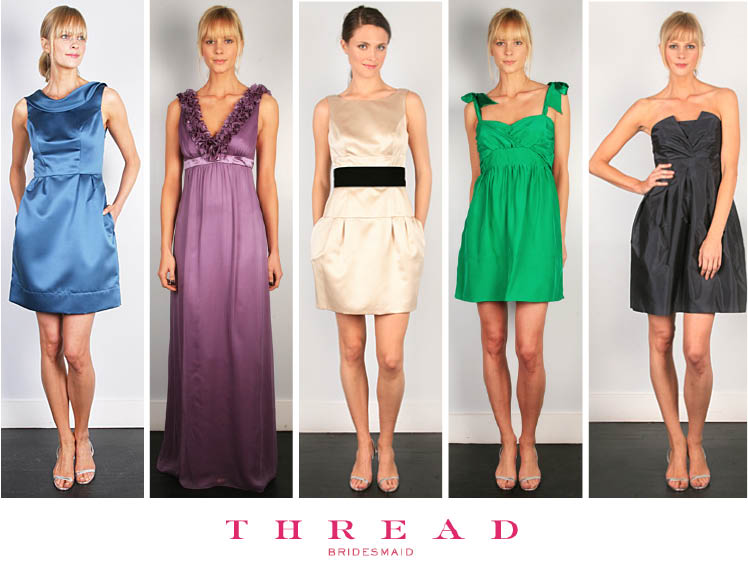 Thread Bridesmaid dresses available at Bella Bridesmaid in Dallas, Texas