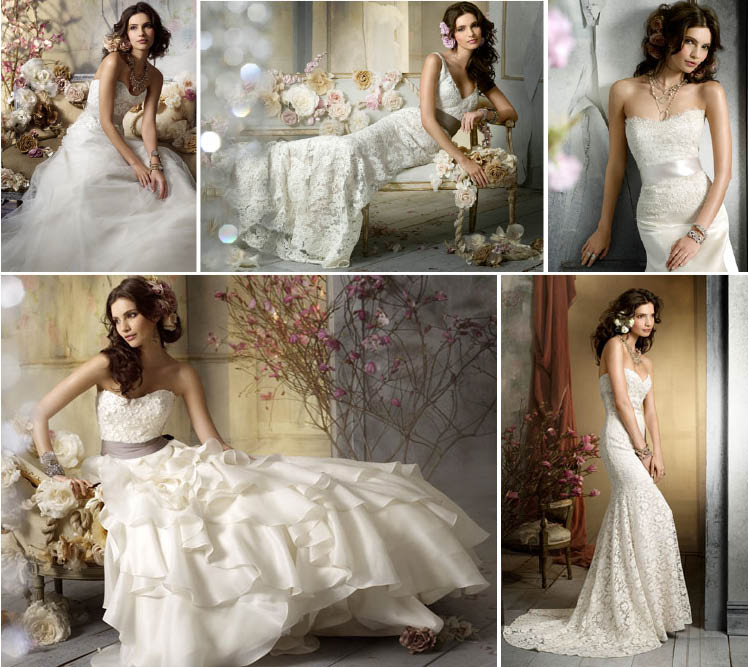 Jim Hjelm Fall 2009 wedding gown collection available at Stardust Celebrations in Plano, Texas