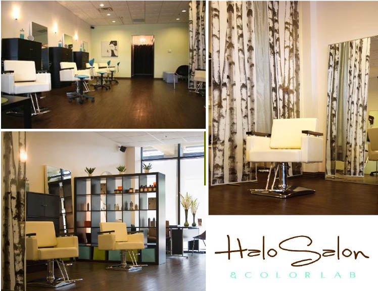 Halo Salon and Colorlab in Fort Worth, Texas, offers wedding day hair and make up services for the Texas bride and her bridesmaids